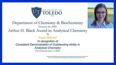 UT Chemistry Department Virtual Honors T