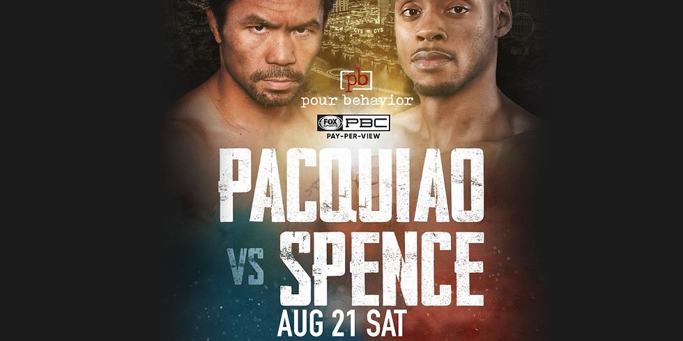 Pacquiao VS Spence Jr. Watch Party