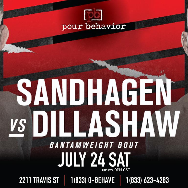 UFC Fight Night: Sandhagen vs Dillashaw Watch Party