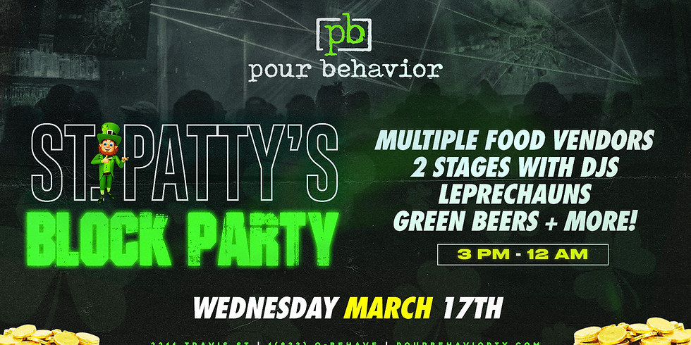 ST Patty's Block Party