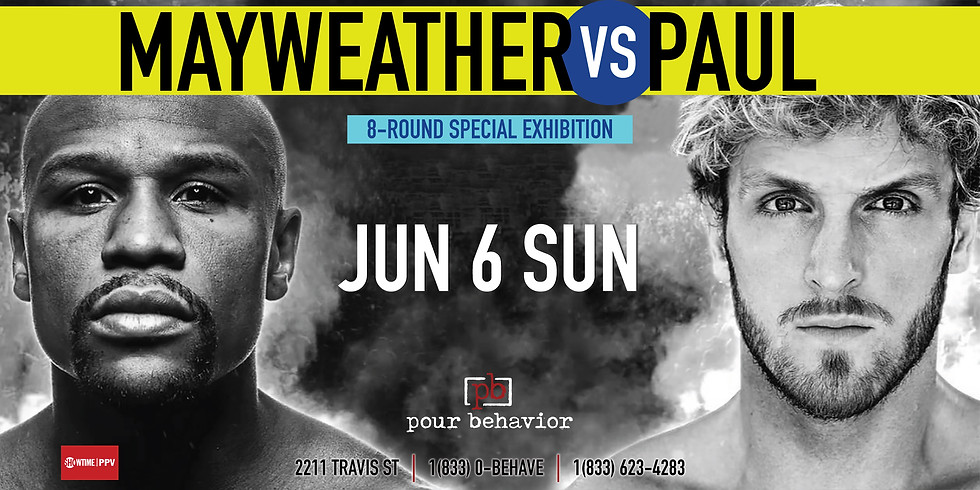 Mayweather VS Paul Watch Party