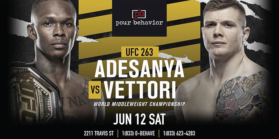 UFC 263 : Adesanya VS Vettori Watch Party
