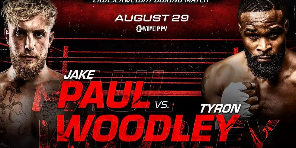 Jake Paul VS Tyron Woodley Watch Party