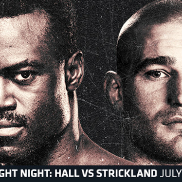 UFC Fight Night: Hall VS Strickland Watch Party