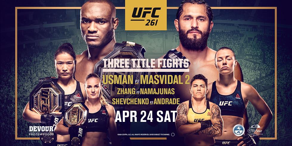 UFC 261 : Usman VS Masdival 2