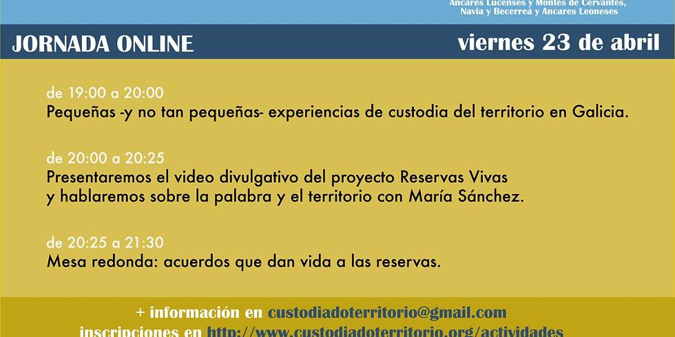 Jornada online de Reservas Vivas