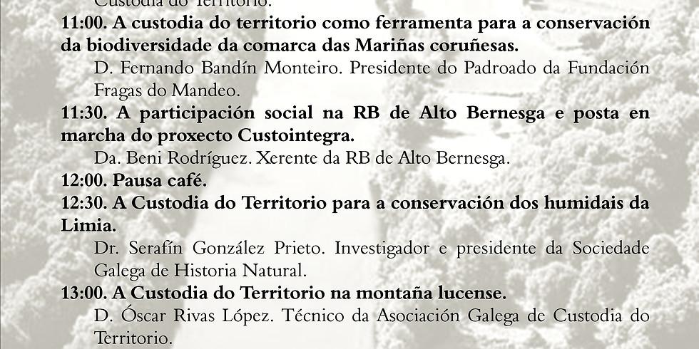 Xornada sobre Custodia do Territorio e conservación de Espazos Naturais Protexidos