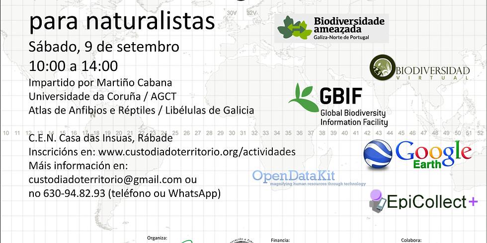 Ferramentas cartográficas dixitais para naturalistas