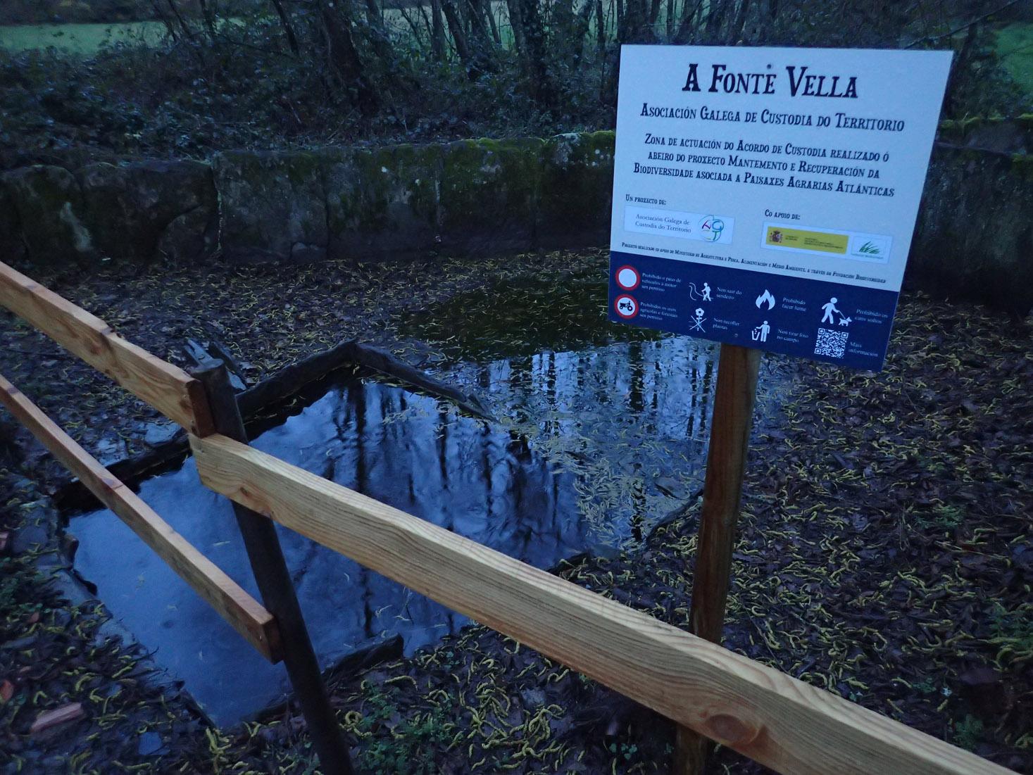Lavadoiro da Fontevella restaurado