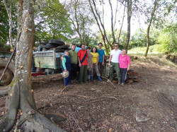 Recollida de basura con voluntarios
