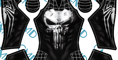 Spider-Punisher (PS4 Style)