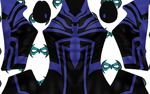 Cyberpunk Spidersona