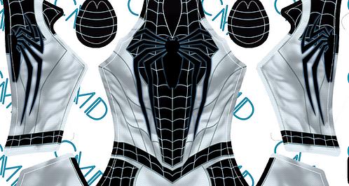 PS4 Negative Suit Spider-Man Male