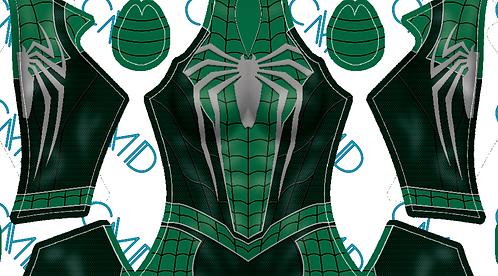 Slytherin Spider-Man (Female)