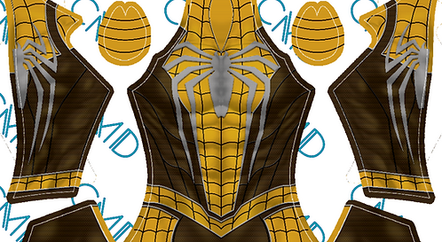 Hufflepuff Spider-Man (Male)