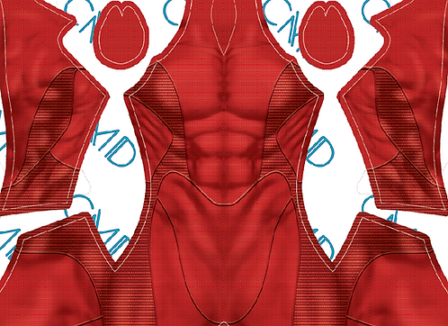 PS4 Scarlet Spider Undersuit Male