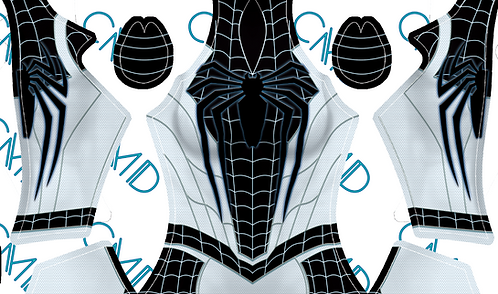 PS4 Negative Suit Spider-Man Female