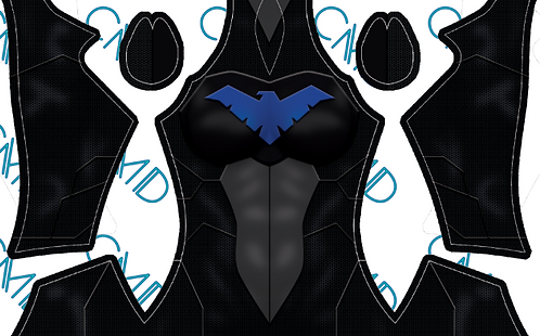 Nightwing Young Justice Female