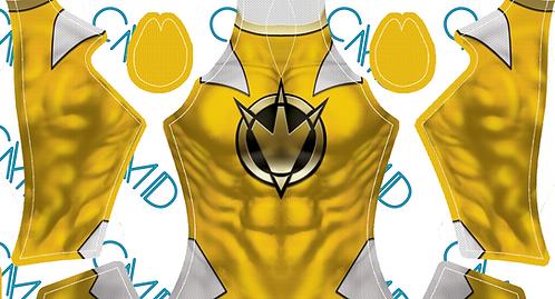 Yellow Dino Thunder Ranger