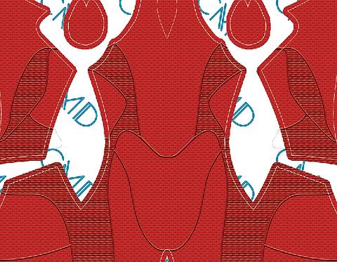 PS4 Scarlet Spider Undersuit (No shading)
