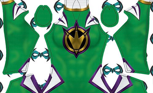 Green/Purple Dino Ranger