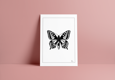 Print BUTTERFLY