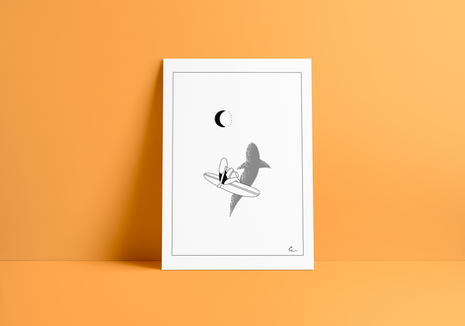 Print SHARK