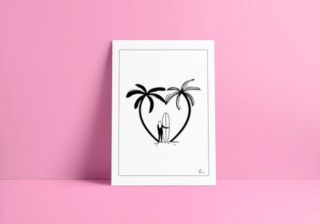 Print SUMMER LOVE