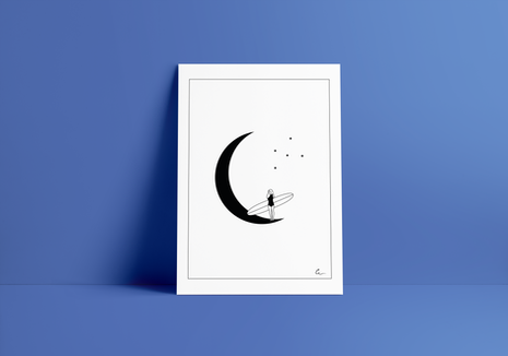 Print MOONLIGHT