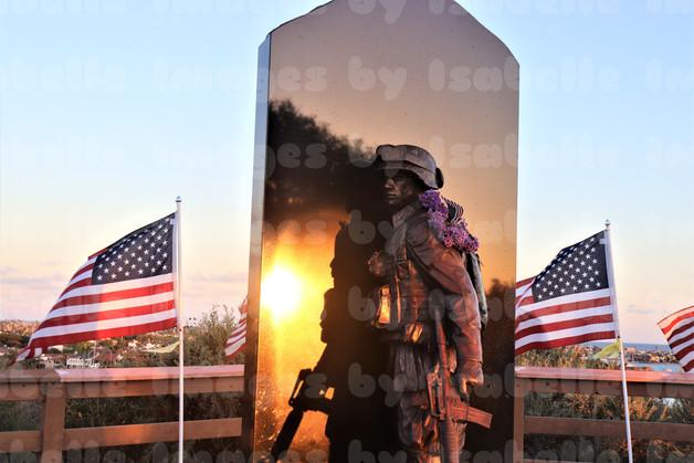 Hero At Sunset