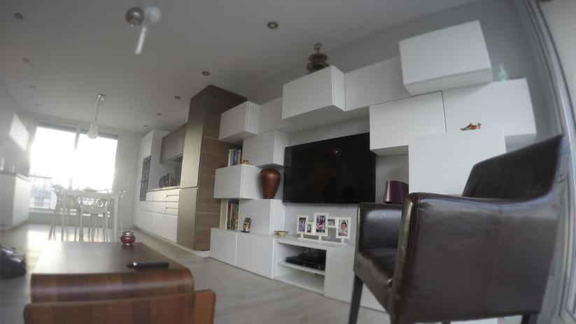 Restructuration complète d'un appartement