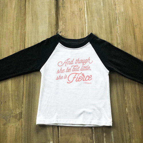 She is Fierce Raglan Tee