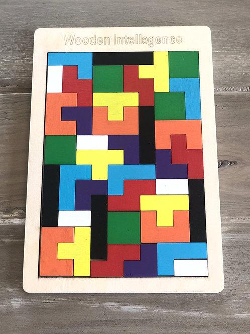 Tetris Wooden Puzzle
