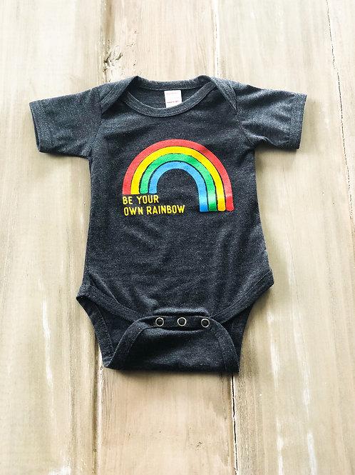 Be Your Own Rainbow Onesie