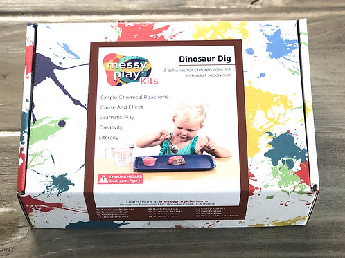 Dinosaur Dig Messy Play Kit