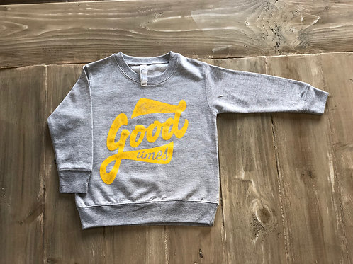 Good Times Grey Pullover
