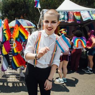 San Diego Pride Flags