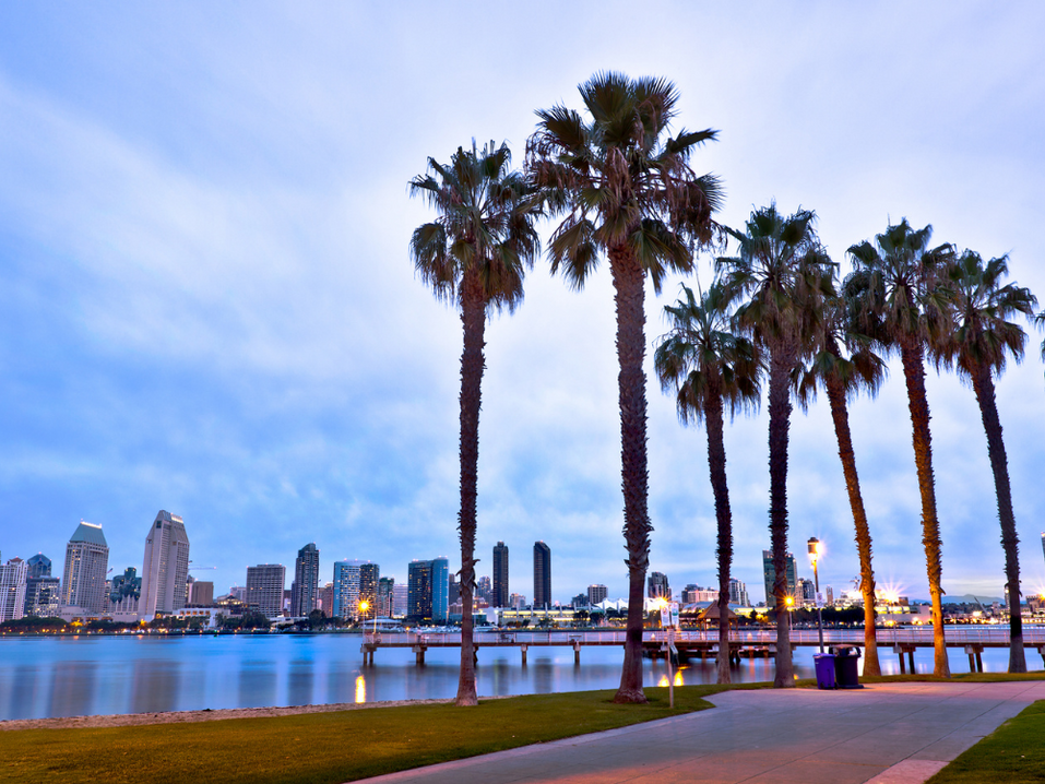 San Diego Bay and Downtown