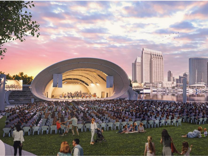 San Diego Symphony Shell