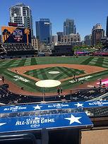 All Star Game branding at Petco Park