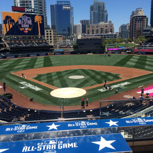 Petco Park All-Star Game Branding