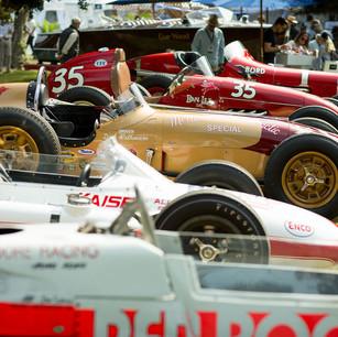 Vintage Race Cars LJCDE