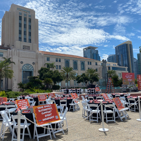 An Empty Event Represents 12 Million Unemployed