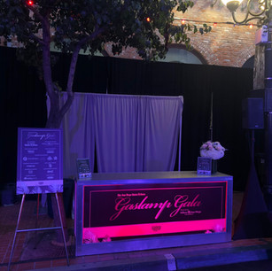 Gaslamp Gala DJ Booth