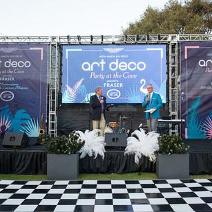 Art Deco Stage and Dance Floor