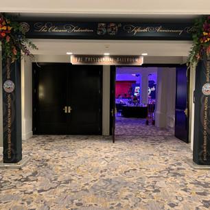 Chicano Federation Ballroom Entrance