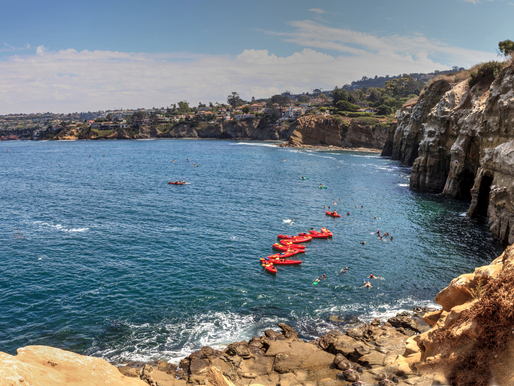 La Jolla Cove Kayaking