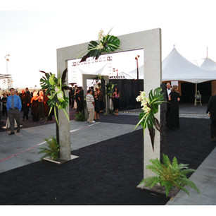 Telecom Red Carpet Entrance