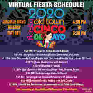 Virtual Fiesta Old Town Promotional Graphic