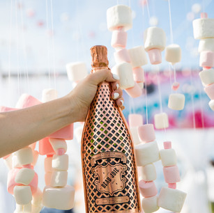 Art Deco Sugar Factory Champagne and Marshmallows